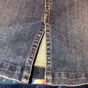 St. John's Bay Skirts - Jean shirt